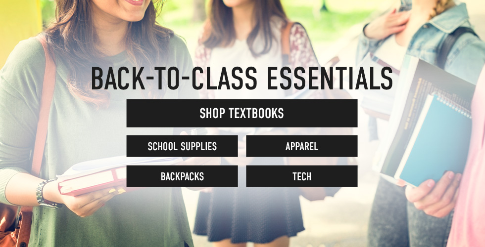 Picture of students. Back to Class Essentials. Click to shop now.